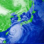 台風24号「チャーミー」の爪痕